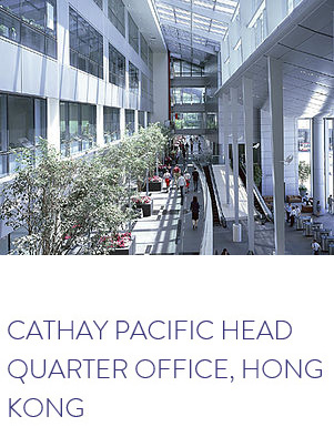 CATHAY PACIFIC HEAD QUARTER OFFICE, HONG KONG